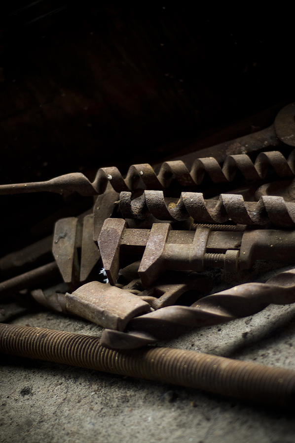 Abandon Photograph - Tools by Jessica Berlin