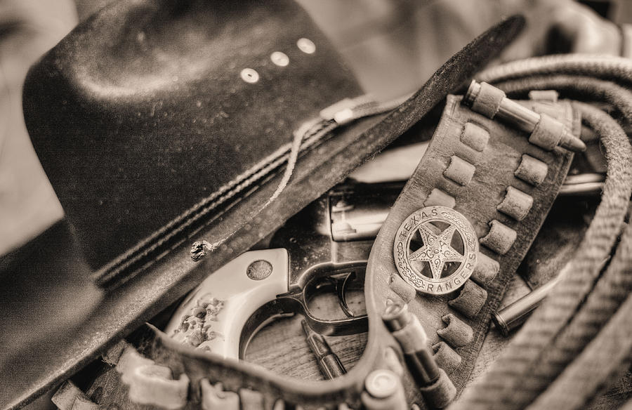 Cowboy Hat Photograph - Tools Of The Trade  by JC Findley