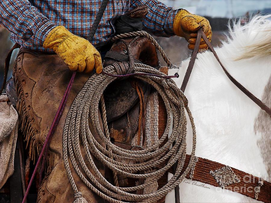 Cowboy Photograph - Tools Of The Trade by Kae Cheatham