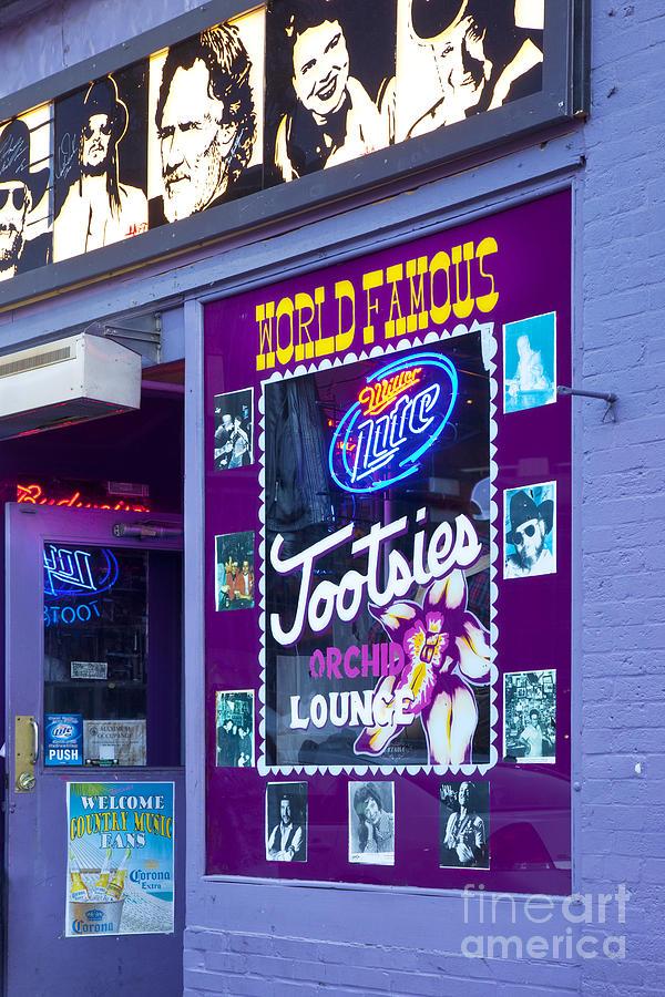 Tootsies Photograph - Tootsies Nashville by Brian Jannsen