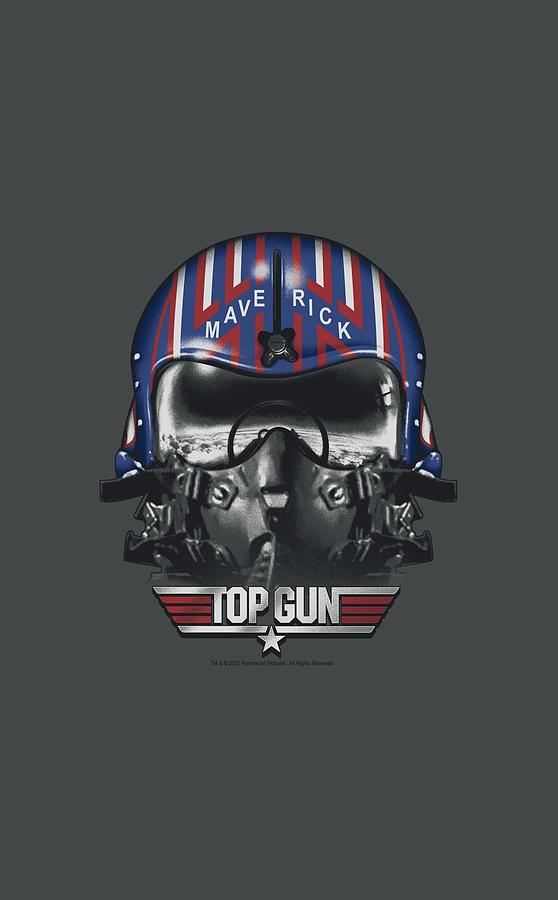 Top Gun Digital Art - Top Gun - Maverick Helmet by Brand A