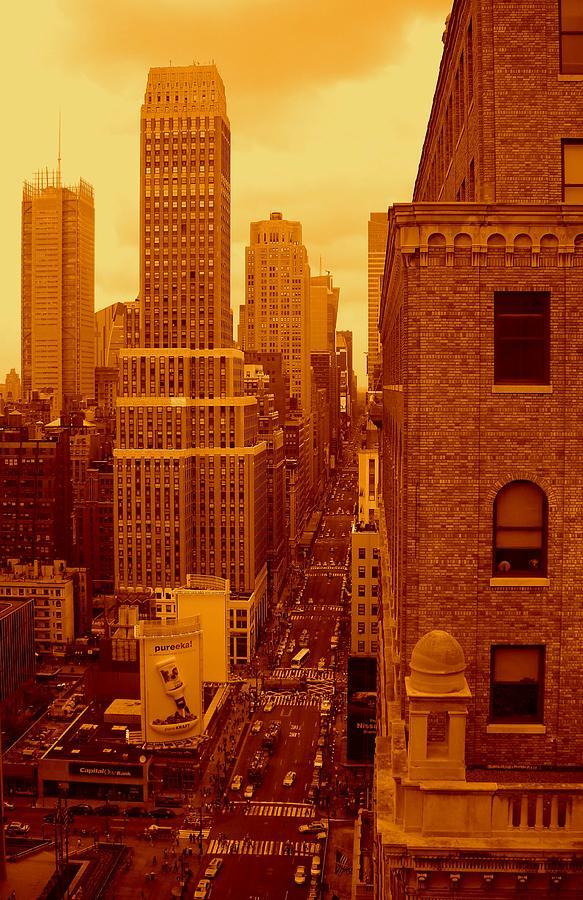 Fine Art America Prints Photograph - Top Of Manhattan by Moniques Fine Art