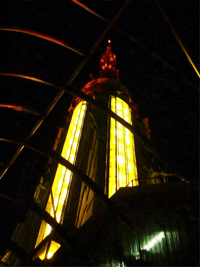 Esb Photograph - Top of the Empire State Building by Randi Kuhne