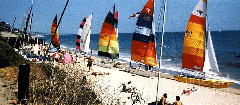 Topanga South Yacht Club Malibu by John Mabry