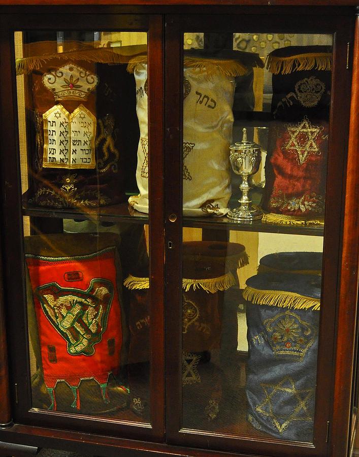 Torah Photograph - Torah Scrolls by Tikvahs Hope