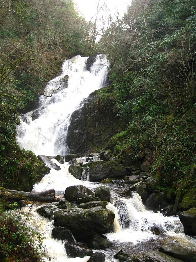 Waterfall Photograph - Torc Falls Ireland by Margaret Hodgson