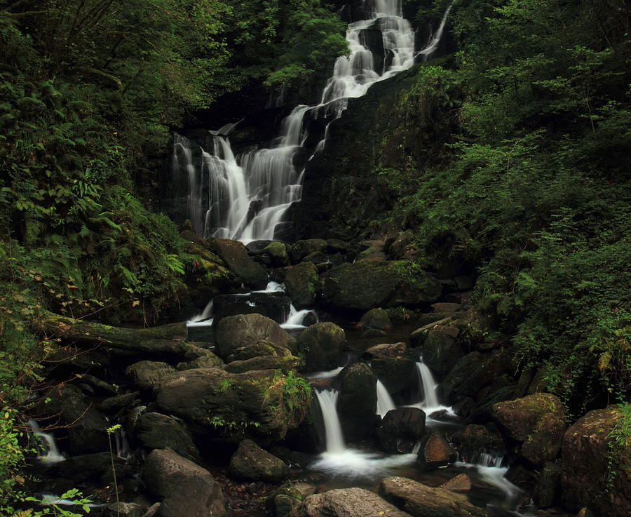 Torc Waterfall Photograph by Peter Skelton