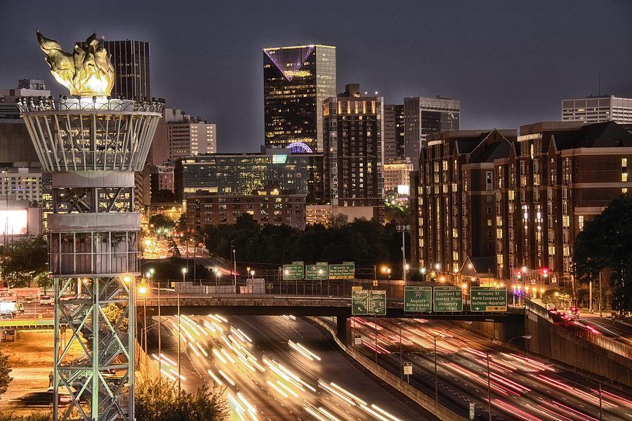 Atlanta Photograph - Torching Atlanta by Lisa Marie Pane