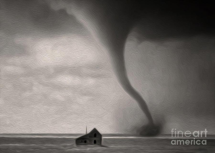 Tornado Photograph - Tornado by Gregory Dyer