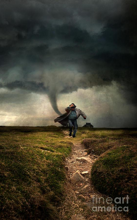 Tornado Photograph - Tornado by Jaroslaw Blaminsky