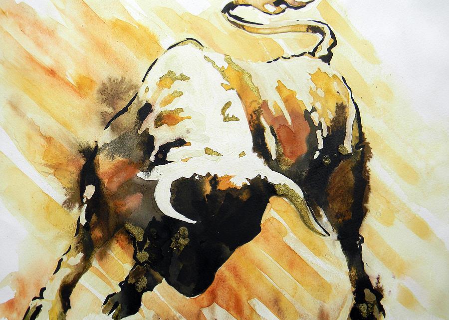 Toro Painting By J J Espinoza