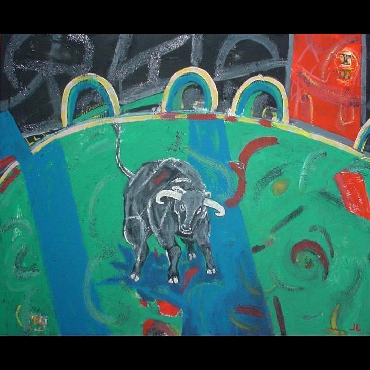 Taurus Painting - Toro by Lidia Jevremovic