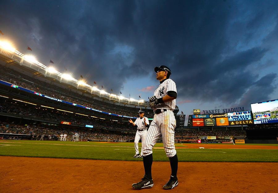 Toronto Blue Jays V New York Yankees Photograph by Mike Stobe