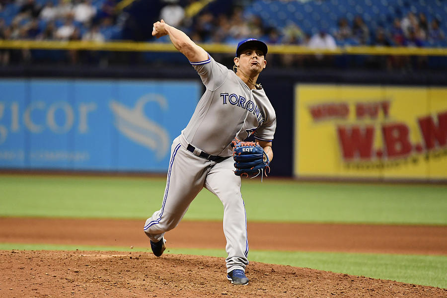 Toronto Blue Jays v Tampa Bay Rays Photograph by Julio Aguilar