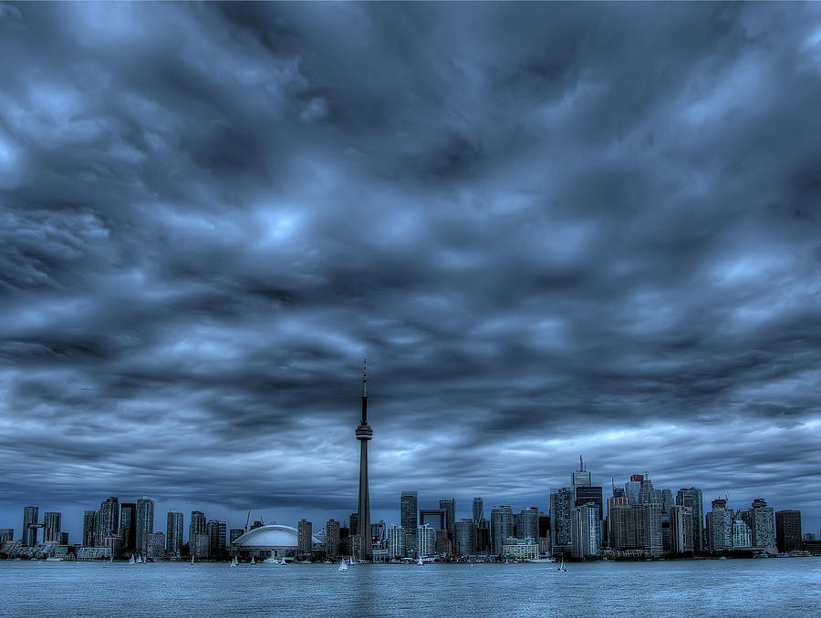 Toronto Photograph - Toronto Blue by Max Witjes