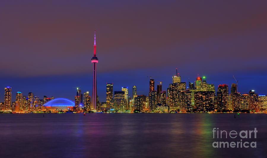 Nikon Photograph - Toronto By Night... by Nina Stavlund