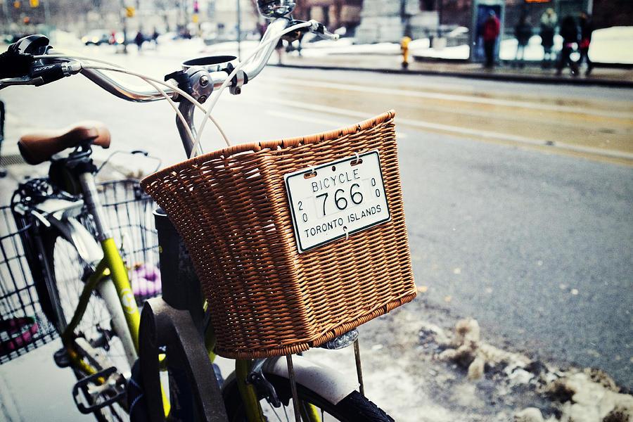 Toronto Photograph - Toronto Islands Bicycle by Tanya Harrison