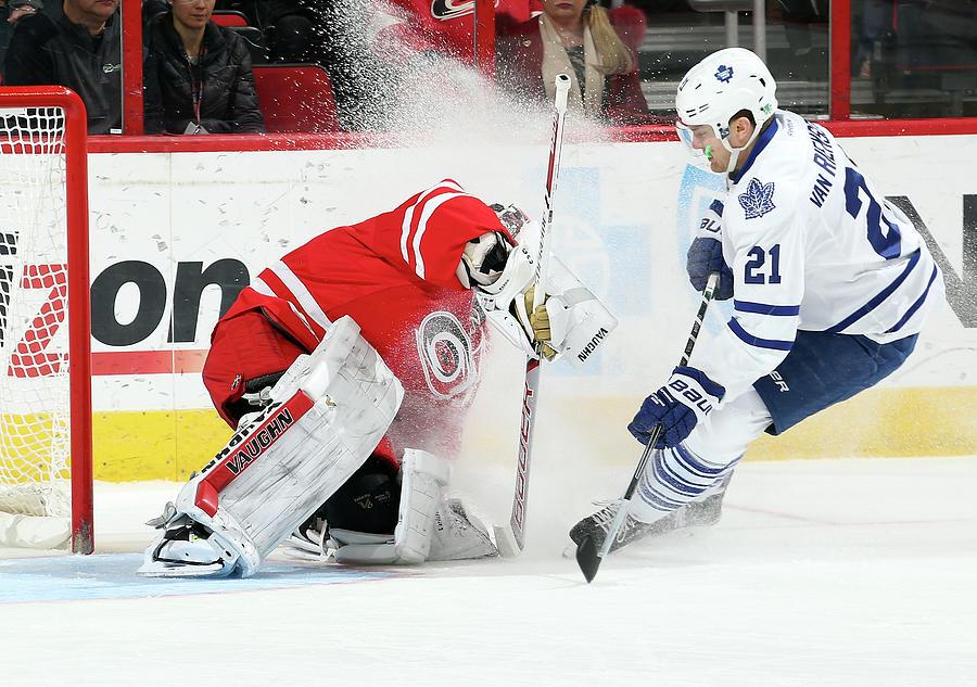 Toronto Maple Leafs V Carolina Photograph by Gregg Forwerck