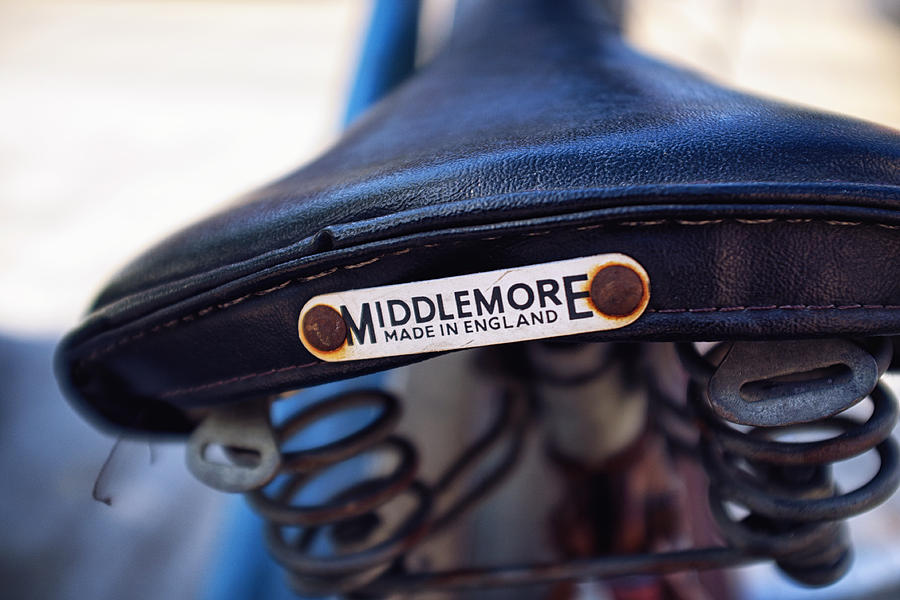 Bicycle Photograph - Toronto Middlemore Bike Seat by Tanya Harrison
