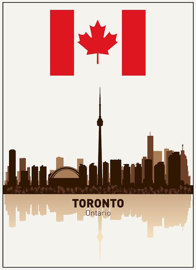 Ontario Digital Art - Toronto Ontario Canada by Daniel Hagerman