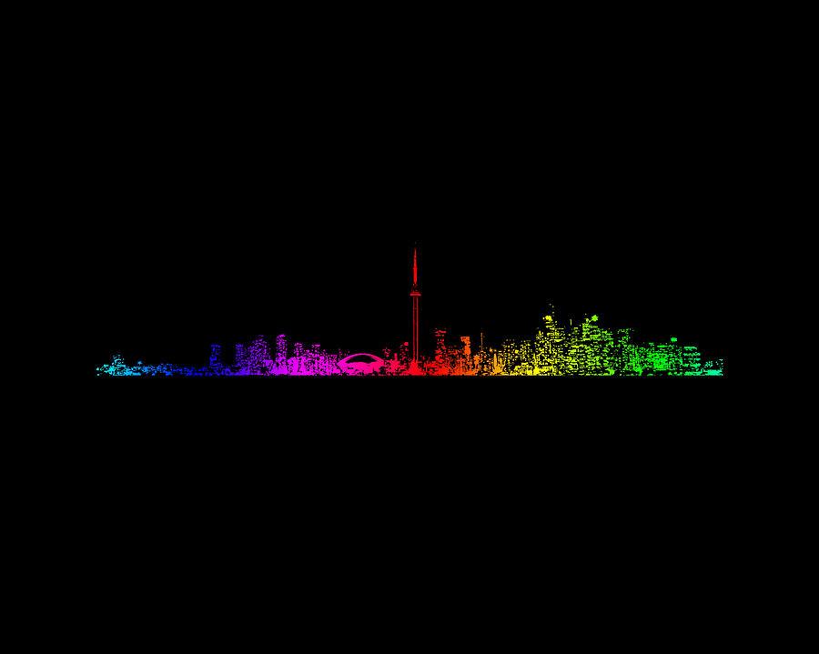 Toronto Photograph - Toronto Rainbow by Brian Carson