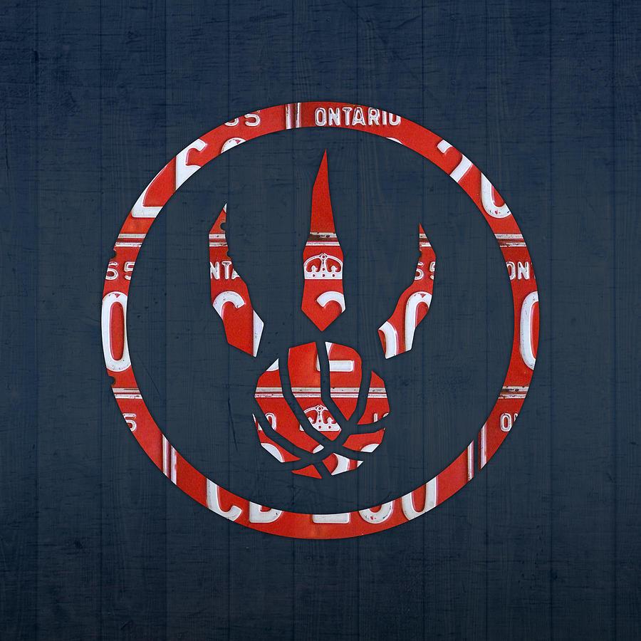 Toronto Raptors Basketball Team Retro Logo Vintage Recycled Ontario