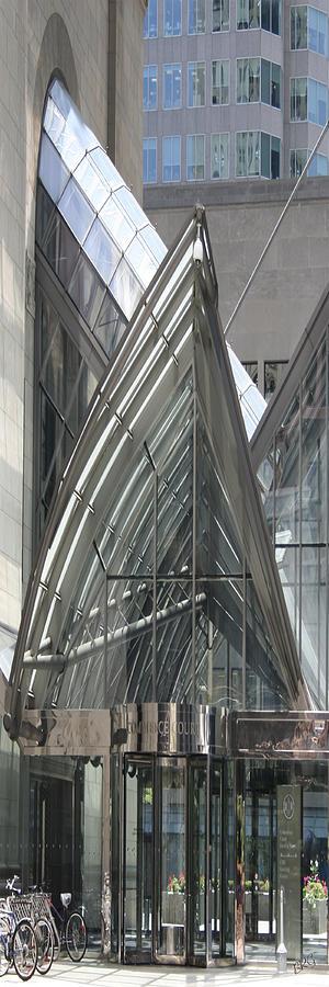 Modern Architecture Photograph - Toronto Silhouettes Iv by Ben and Raisa Gertsberg