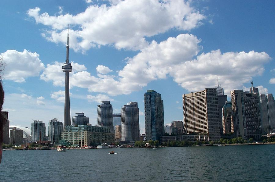 Toronto Photograph - Toronto Skyline by Barbara McDevitt