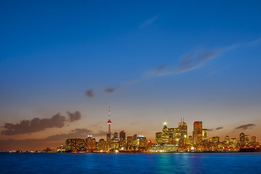 Toronto Photograph - Toronto Skyline by Sebastian Musial
