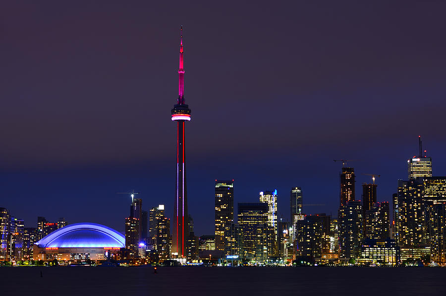 Toronto Photograph - Toronto Skyline by Tony Beck