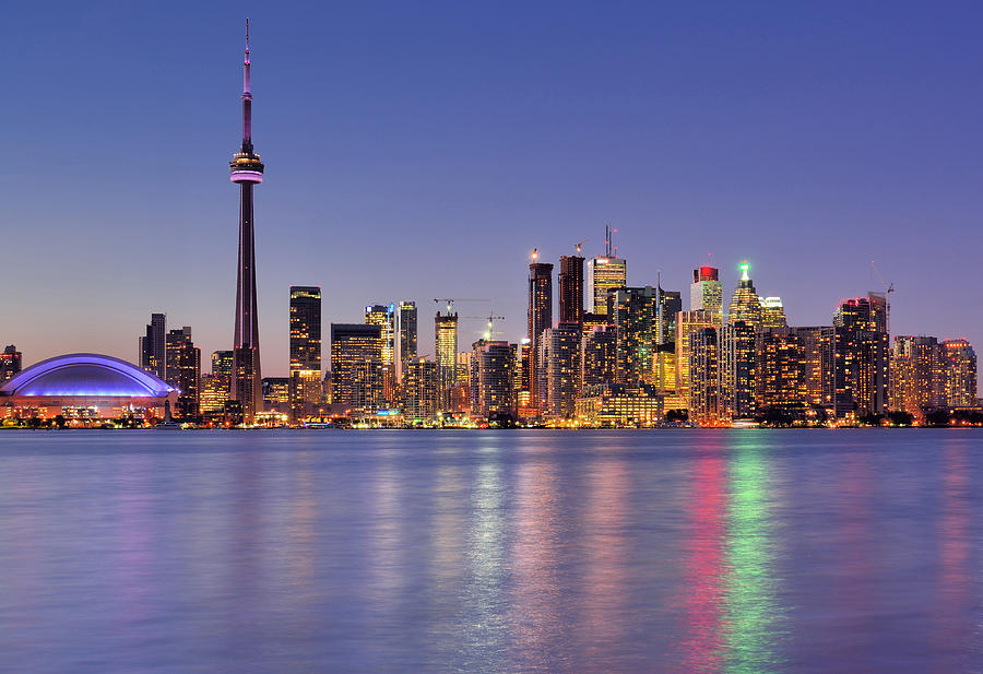 Toronto Waterfront Photograph by Wei Fang