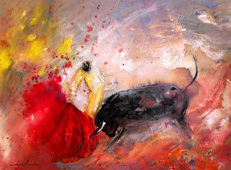 Culture Painting - Toroscape 48 by Miki De Goodaboom