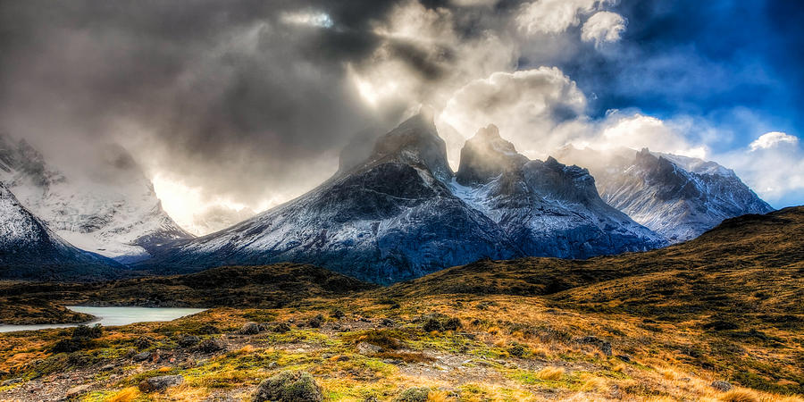 Chile Photograph - Torres Del Paine 1 by Roman St