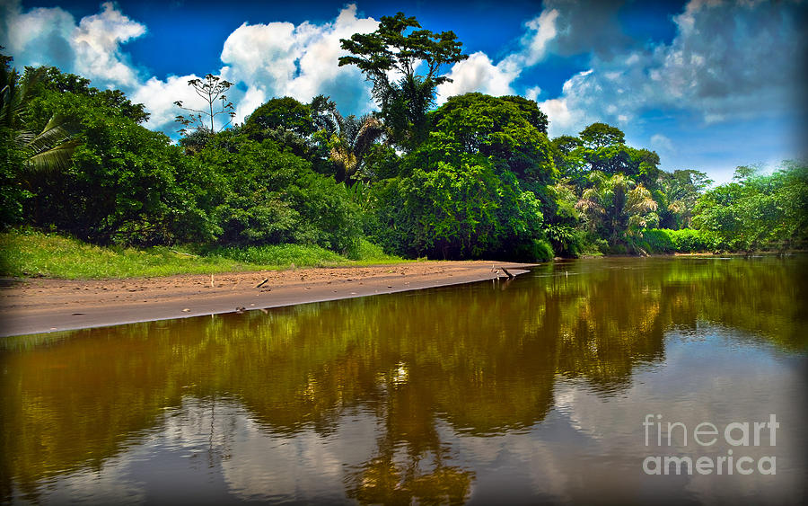 Tortuguero Photograph - Tortuguero River Canals by Gary Keesler
