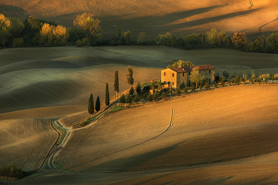 Landscape Photograph - Toscany by Clas Gustafson Efiap