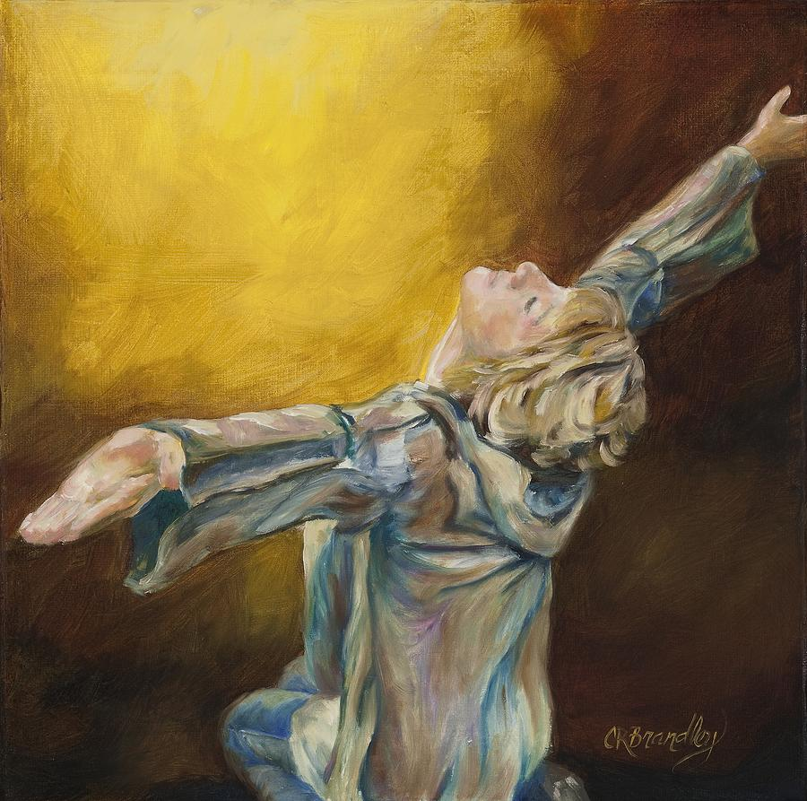 Total abandon painting by chris brandley Fine art america