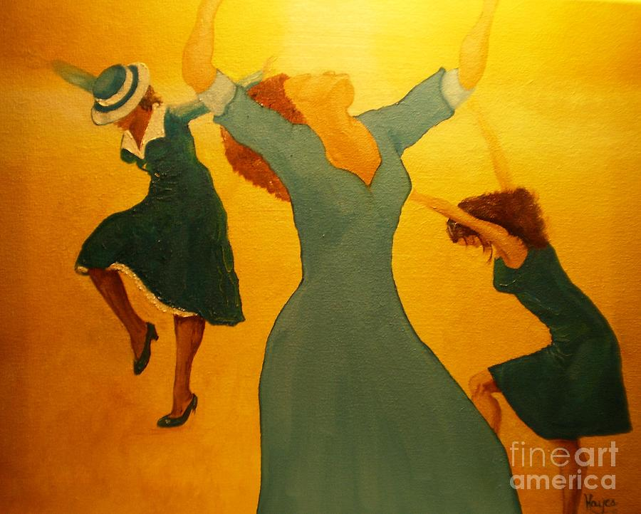 Praise Painting - Total Praise by Barbara Hayes