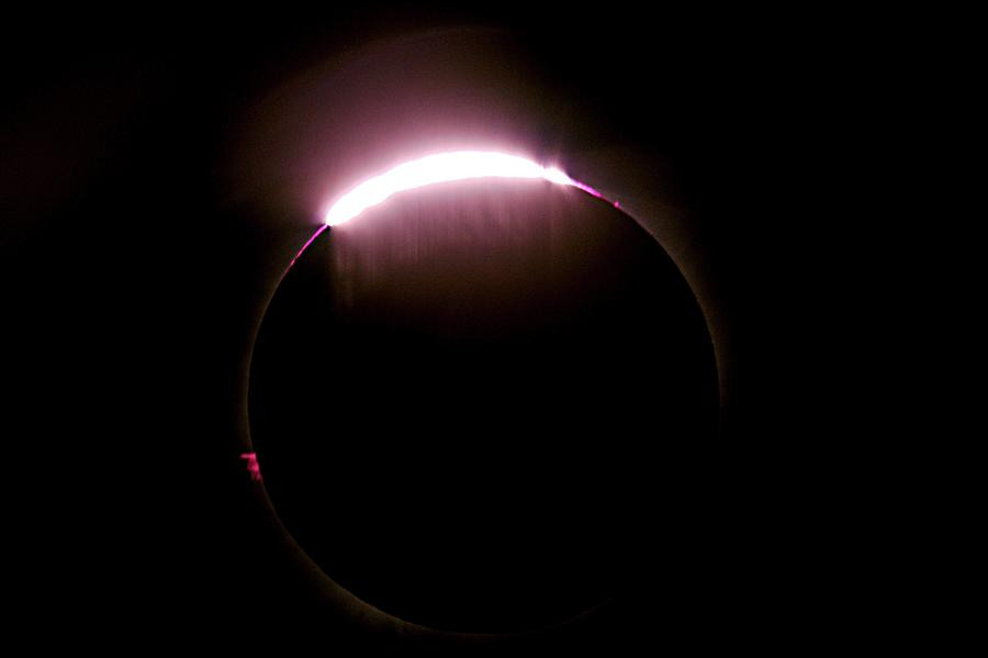 Bailey's Beads Photograph - Total Solar Eclipse by Don Sabers/rev. Ronald Royer/science Photo Library