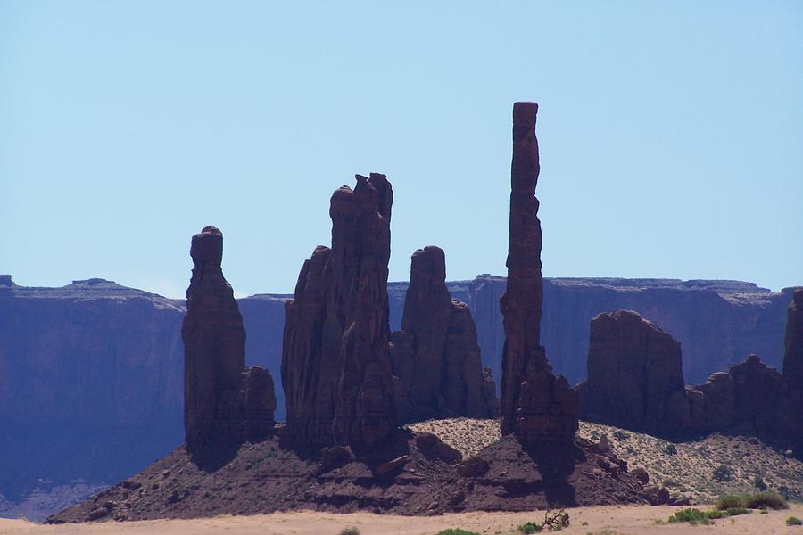 Monument Valley Photograph - Totem Pole In Monument Valley by Dany Lison