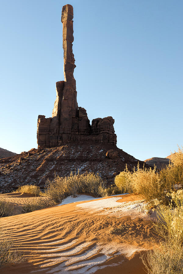 Totem Photograph - Totem Pole by Mike Herdering