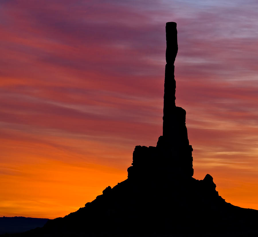 Totem Photograph - Totem Pole Sunrise by Susan Candelario