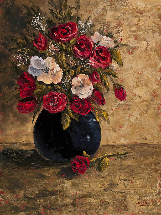 Still Life Painting - Touch Of Elegance by Darice Machel McGuire