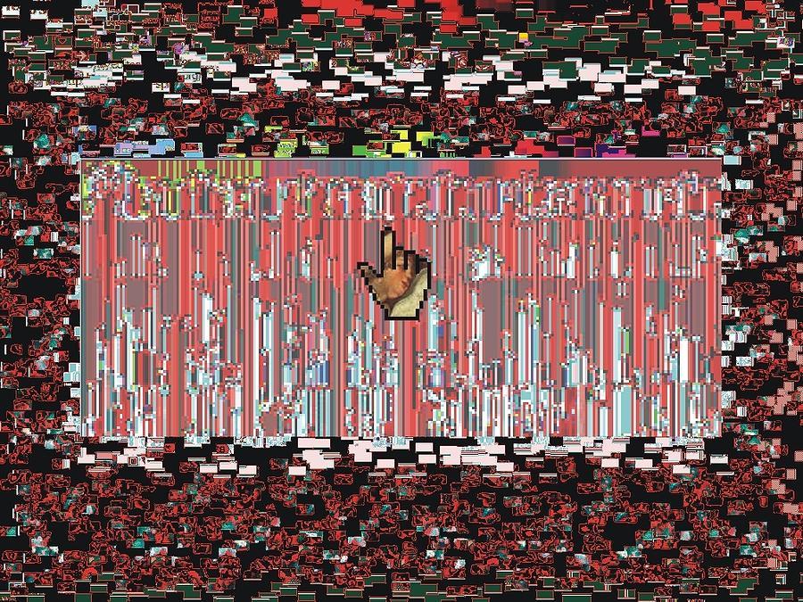 Net Art Digital Art - Touch by Teo Spiller