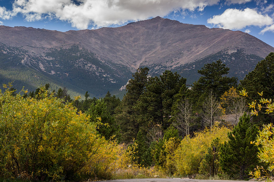 Colorado Mountain Photograph - Touch The Sky by Linda Storm
