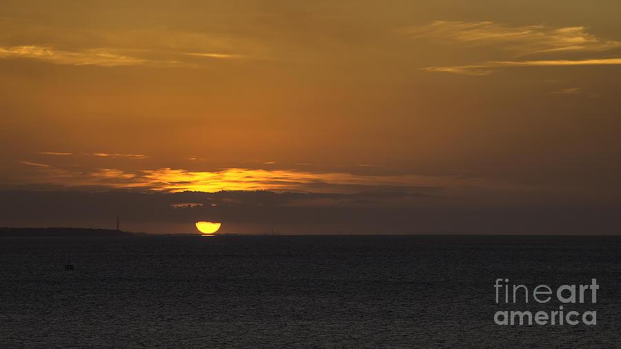 Herne Bay Photograph - Touchdown by Nigel Jones