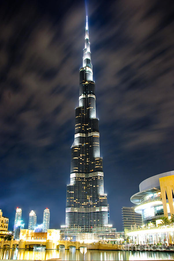 Burj Photograph - Touching The Sky by Syed Aqueel
