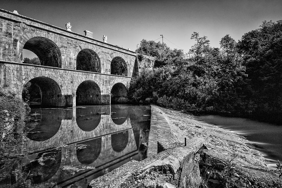 Landscapes Photograph - Tounj Bridge by Davorin Mance