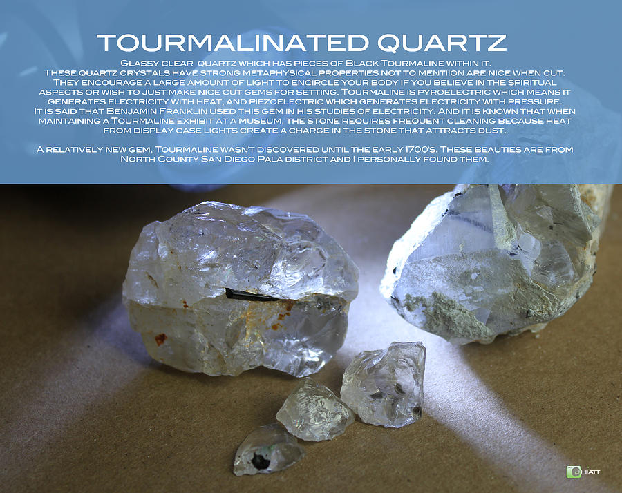 TOURMALINATED QUARTZ by JHIATT
