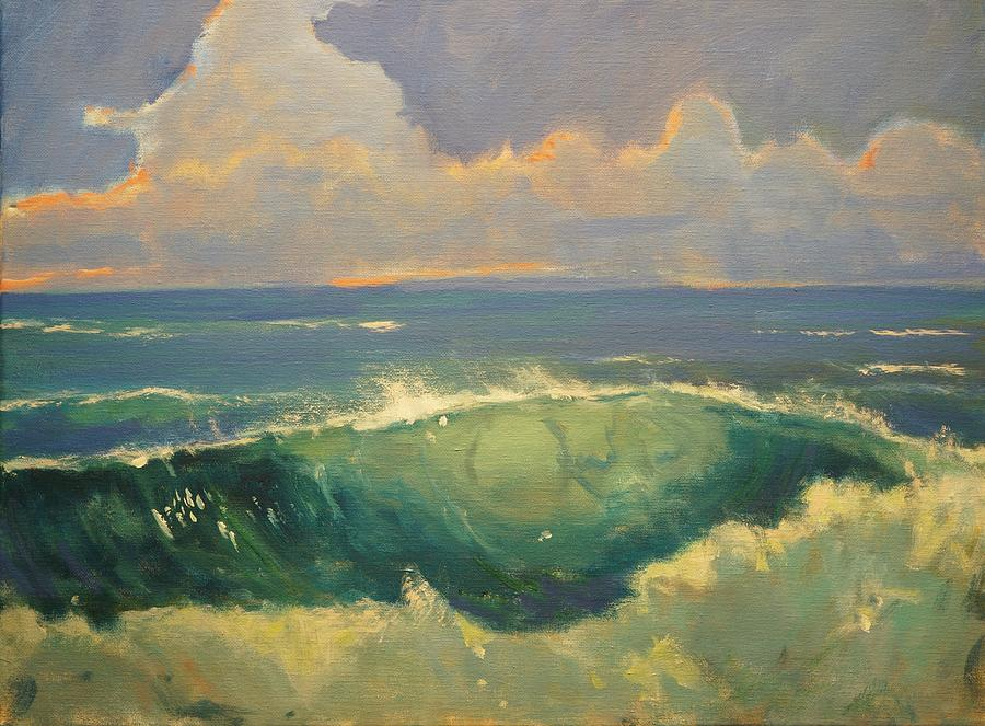 Painting Painting - Tourmaline Surf by Jim Noel