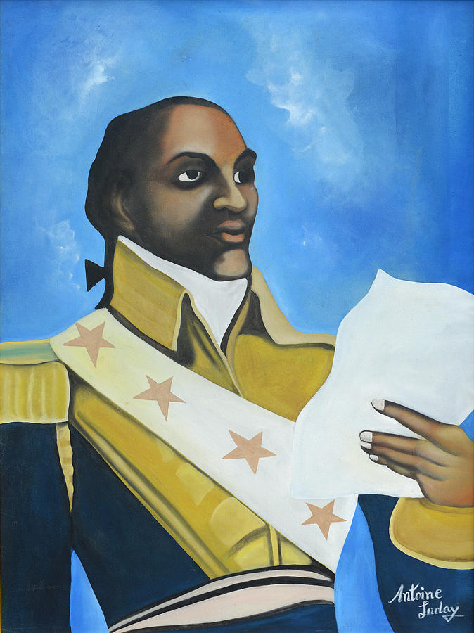 The Negotiator Painting - Toussaint Louverture by Antoine Laday